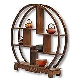 【VICHE CATT】 中国 茶器 香炉 盆栽 花瓶 台 棚 花台 木製 和風 モダン アンティーク……