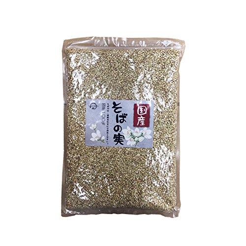 Macaron そばの実 ヌキ実 国産 あさイチ (1kg)
