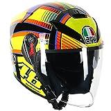 AGV(エージーブイ) バイクヘルメット ジェット K-5 JET SOLELUNA (ソレルナ) XL (61-62cm) 113190G0-001-XL