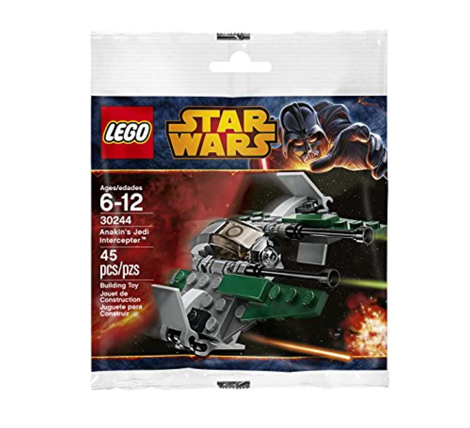 LEGO Star Wars: Anakin's Jedi Interceptor セット 30244 (袋詰め)