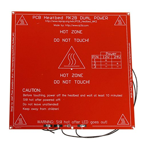 3Dプリンター MK2B デュアル パワー PCB ヒート ...