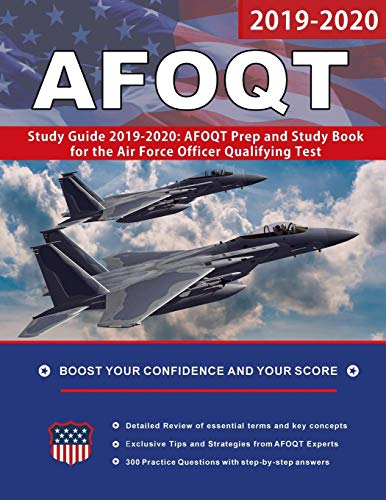 Download AFOQT Study Guide 2019-2020: AFOQT Prep and Study Book for the Air Force Officer Qualifying Test 0999876473