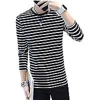 [サコイユ] Tシャツ 長袖 ボーダー トップス カットソー 薄手 メンズ