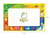 HuaQingPiJu-JP 水の落書きマット、水の絵画水のペンを持つマットパッド子供の教育おもちゃの男の子の女の子