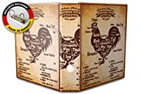 バインダー 2 Ring Binder Lever Arch Folder A4 printed Cut chicken