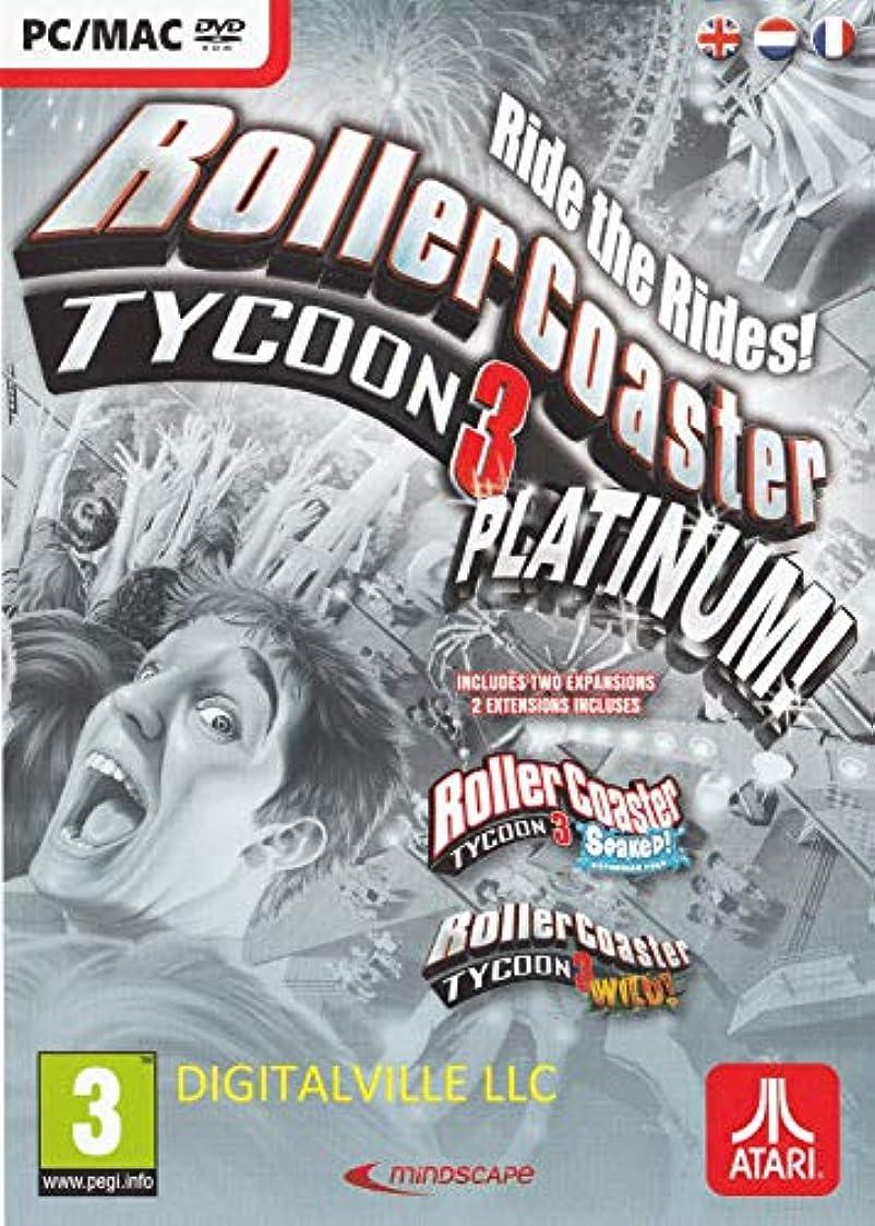 マエストロ相談するいわゆるRollerCoaster Tycoon 3 Platinum (PC/MAC DVD) (輸入版)