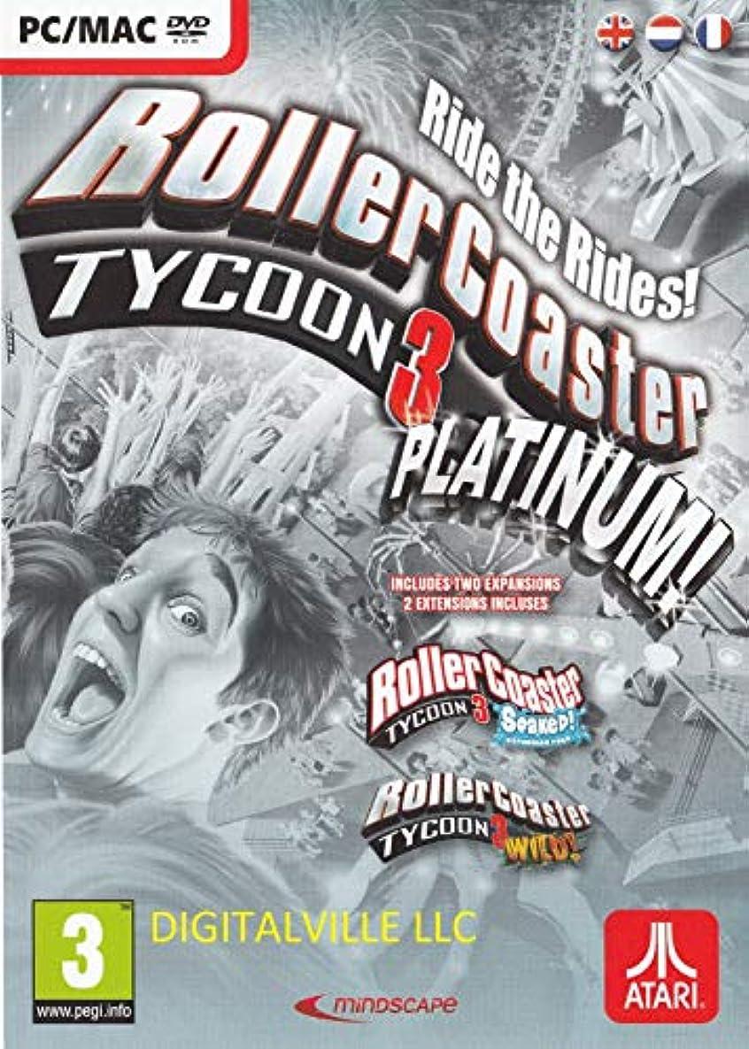 ベルベットサンプルぬれたRollerCoaster Tycoon 3 Platinum (PC/MAC DVD) (輸入版)