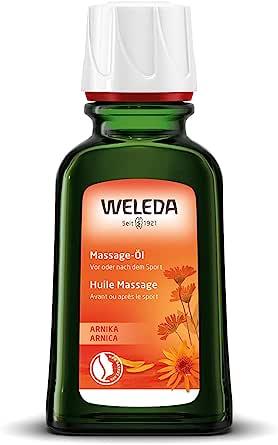 WELEDA(ヴェレダ) アルニカ マッサージオイル 50ml【ボディオイル、お持ち運びに便利なミニサイズ・肩や腰・手足、スポーツ前後のマッサージに】 ローズマリーの香り