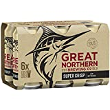 Great Northern Super Crisp Lager Beer Case 24 x 375mL Cans