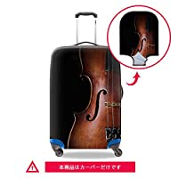 Dispalang スーツケースカバー 3Dプリント 伸縮素材 音楽Suitcasecover-music2S