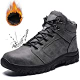 [Visionreast] スノーブーツ メンズ 防水 防寒 防滑 アウトドアシューズ 裏起毛 通勤 通学 防寒靴 大きいサイズ レインシューズ カジュアル ビジネス ブーツ 綿靴 滑り止め 雪靴