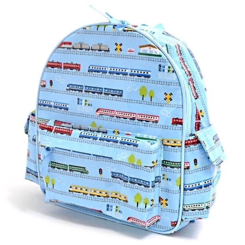 愛する影のあるミキサー通園リュック ショルダー 幼稚園バッグ 保育園バッグ 超特急ドリームエクスプレス(ライトブルー) N0626500