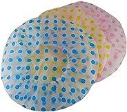 Tender Spotted Shower Cap, Multicoloured, Pack of 12