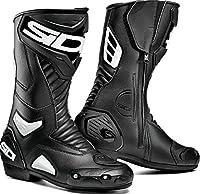 Sidi シディ PERFORMER BOOTS ライディングブーツ ブラック/ホワイト 47(約28.5cm)