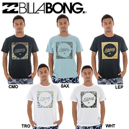 【BILLABONG】ビラボン2014春夏/メンズ 半袖 Tシャツ ロゴ LOGO LINE TEE レギュラーフィット SAX M