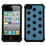 Best Mybat iPhone 4Sケース - MYBAT AIPHONE4AVHPCTDEF105NP Dots Total Defense Protective Case Review