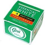 ギジ gizi Essential White ナイト用スキンケアクリーム ボトルタイプ 9g テムラワク ウコン など天然成分配合 [海外直送品]
