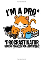 Notebook: Hamster Faul Procrastinate Joke Funny Gift 120 Pages, A4 (About 8,5X11 Inches / Letter), Lined / Ruled, Diary