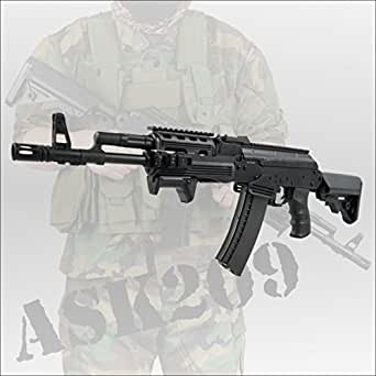 APS フルメタルAK74 PMCカスタムモデルブローバック電動ガン ASK-209 エアガン ミリタリー