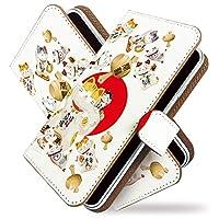 [KEIO ブランド 正規品] iPhone6s ケース 手帳型 招き猫 6s 手帳型ケース 動物 iPhone6s 招き猫 アイフォン ケース アイフォン6s 商売繁盛 ittn開運招き猫t0372