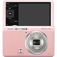 CASIO デジタルカメラ EXILIM EX-ZR70PK 「自分撮りチルト液晶」 「メイクアップ&セルフィーアート」 EXZR70 ピンク