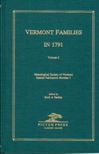 Vermont Families in 1791 Volume 1