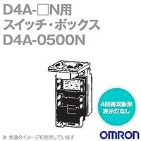 オムロン(OMRON) D4A-0500N 小形重装備リミットスイッチ用スイッチ・ボックス(4回路双断形/同時動作) NN