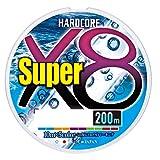 デュエル(DUEL) PEライン ハードコア スーパー X8 200m1.2号 5色 H4317-5C