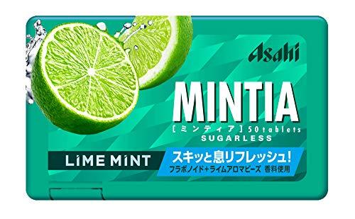 アサヒグループ食品 ミンティアライムミント 50粒×10個