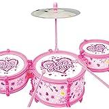 わくわくキッズドラムセット (ピンク)