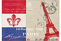 冷蔵庫用マグネット Fridge Magnet Retro Art Metropole Paris