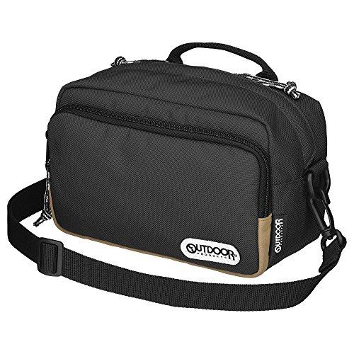 OUTDOOR PRODUCTS (アウトドアプロダクツ) カメラバッグ カメラショルダーバッグ03 2.5L ブラック ODCSB03BK