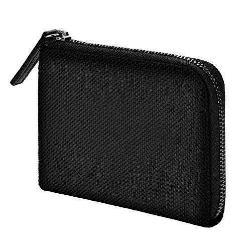 monogoods(モノグッズ) 財布 メンズ コーデュラ バリスティック ナイロン 1680D 薄型 小さい財布 ポケット財布 ブラック