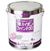 1液ハイポンファインデクロ_4kg[日本ペイント] ホワイト