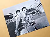 グレゴリー 特大写真「ローマの休日」オードリー・ヘップバーンとグレゴリー・ペック
