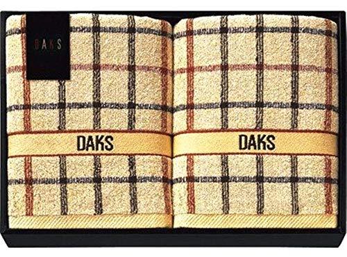 金額で送料変わります DAKS ブルックリン ダックス バスタオル2P