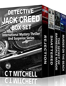 Detective Jack Creed Box Set: Books 1-4 (Detective Jack Creed Murder Mystery Books Book 4) by [Mitchell, C T]
