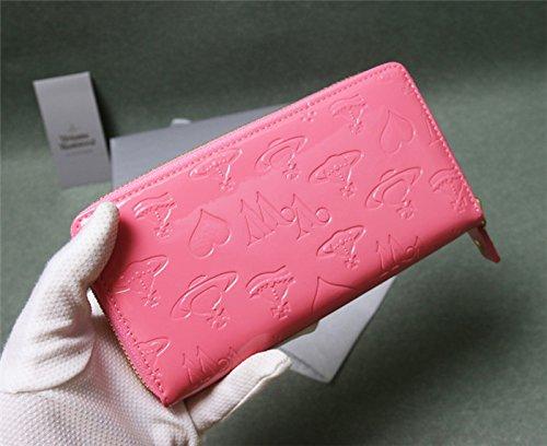(ヴィヴィアンウエストウッド) Vivienne Westwood  レディース 長財布 二つ折り財布 (ピンク)