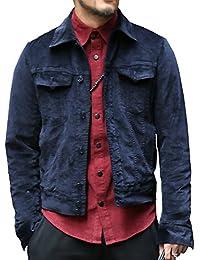 [ミックスリミテッド] ジャケット メンズ アウター デニムジャケット コーデュロイ ベロア ベルベット