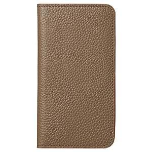 HAKUBA iPhone8 / iPhone7 ケース (4.7インチ) 手帳型 fineseed 熟練の財布職人仕立て 高級牛革製 ウォームグレー  PC-LCIP7WGY