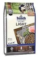 ボッシュ ライト 1歳以上 体重過多・ダイエットが必要な犬用総合栄養食 全犬種用 ハイプレミアム ドッグフード 2.5kg