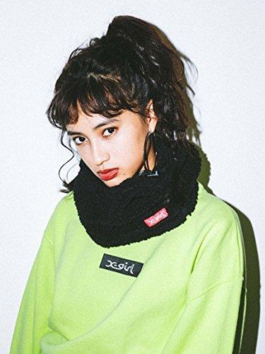 X-girl(エックスガール)BOA NECK WARMER