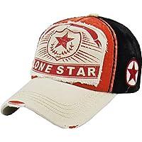 KBETHOS Lonestar Collection ビッグTシャツ ウェスタンダラス ヒューストンハット ビンテージ アンティーク調 ベースボールキャップ ダッドハット 調節可能