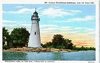 フォト再印刷有名Marblehead灯台、100年以上古い、Marblehead、オハイオ州、on Lake Erie、3マイルEast