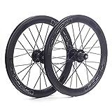 自転車 超軽量 ホイール 20インチ 406 折りたたみ自転車 Minivelo用 ホイールセット 自転車パーツ Wheelset