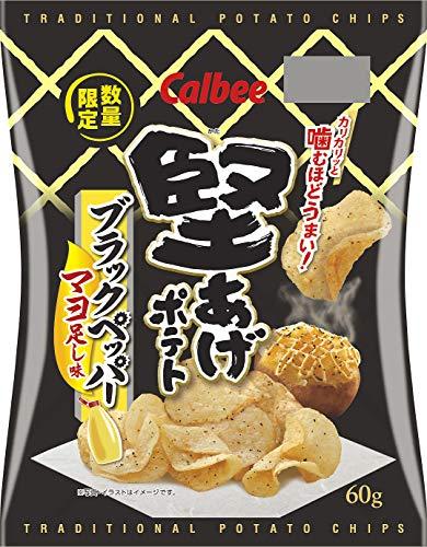 堅あげポテト(ブラックペッパーマヨ足し味)の通販の画像