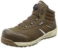 [イグニオ] セーフティシューズ(安全靴) JSAA A種認定 防寒 ミドルタイプ 耐滑ソール TGFダイヤル式 IGS1258TGF メンズ ブラウン 24.5 cm