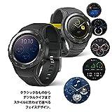 HUAWEI Watch 2 /SPORT/NON-4G カーボンブラック 【日本正規代理店品】 WATCH 2/Sport/LEO-B09/Carbon Black