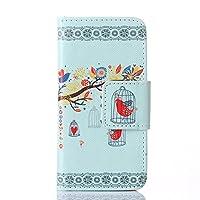 Yupro iPhone SEの花レザーケース #16