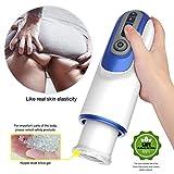 音声対話男性自動ピストンカップ吸い400回/分と暖房電子マッサージカップ男性の玩具